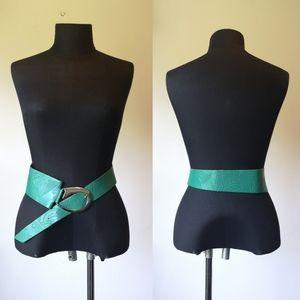 Vintage 90's leather belt